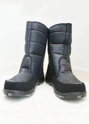 Аляска мужские сапоги черные