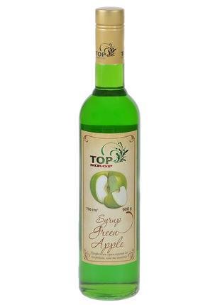 Сироп ТМ Top Sirop «Яблуко Зелене» 900мл