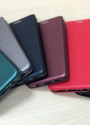 Чехол Книга Premium для Xiaomi Redmi 9   - Цвет: Серебро