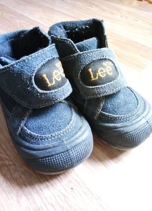 Демисезонные ботинки LEE