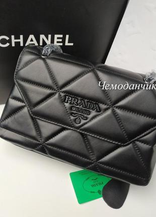 Женская кожаная брендовая сумка на плечо