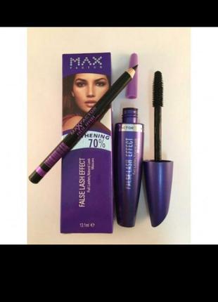 Набор 2 в 1 max factor falce lash effect тушь карандаш