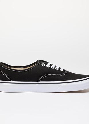 Оригинальные мужские кеды vans authentic black (vn000ee3blk)
