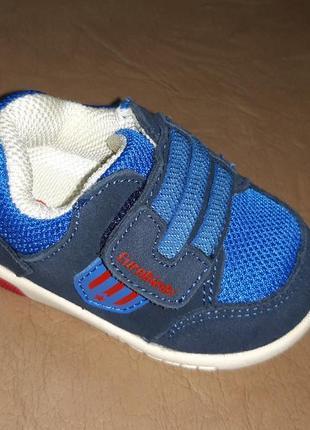 Кроссовки на мальчика 11,14 см. eurobimbi, синие