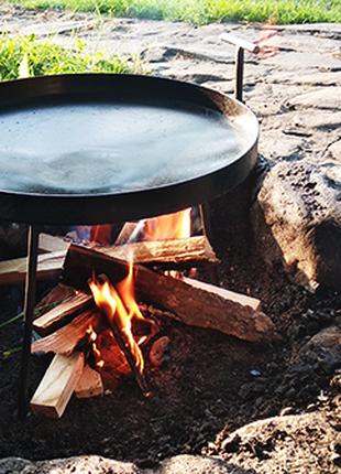 Сковорода из диска бороны, жаровня, садж, барбекю 30см-40см-50см-