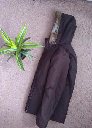 Куртка esprit с капюшоном m женская