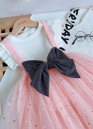 Невероятно красивый нарядный комплект для девочек!