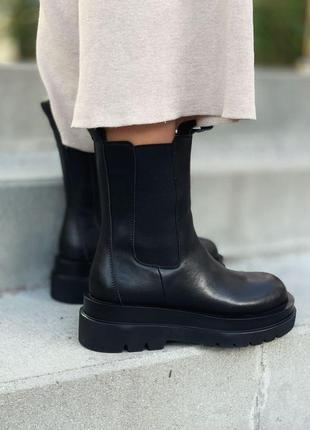Шикарные женские кроссовки no logo bottega veneta chelsea нало...