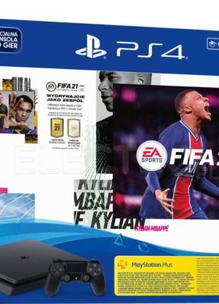 Консоль SONY Playstation 4 Slim 500 gb + FIFA 21 (ps4), Новая!...