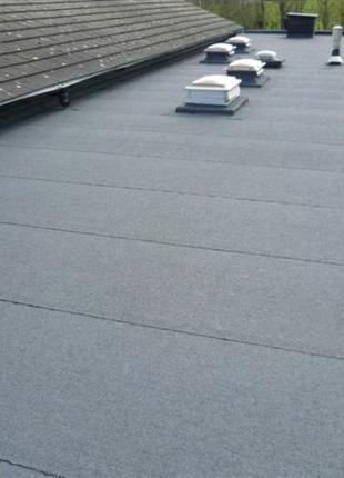 Гидроизоляция крыши Наплавляемым Рубероидом Ремонт Крыш Демонтаж
