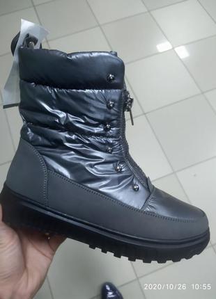Женские сапоги ботинки зимние