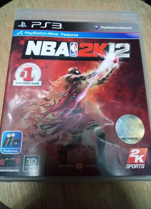 Игра диск NBA 2K12 Playstation 3 PS3