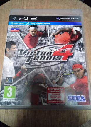 Игра диск Virtua Tennis 4 Playstation 3 PS3