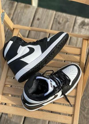 Nike air jordan retro white/black