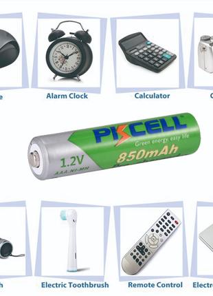 Аккумуляторная батарея PKCELL Ni-Mh AAА 850 MAh.