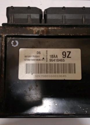 ЭБУ блок управления мозги Эванда Evanda 2.5 Оригинал 96418465