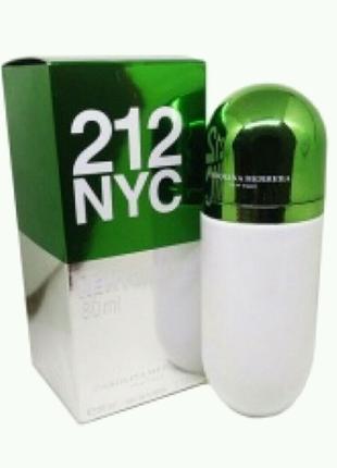 Женская туалетная вода Carolina Herrera 212 NYC Pills