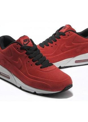 Кроссовки nike air max 90 vt red красные женские