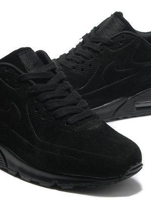 Кроссовки nike air max 90 vt black черные женские