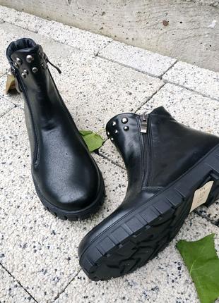 Осіннє взуття з натуральної шкіри.