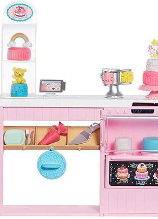 Ігровий набір Mattel Barbie Cake Decorating Барбі Кондитерська