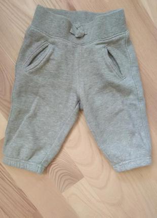 Теплые штаны, спортивные штаны gap grey