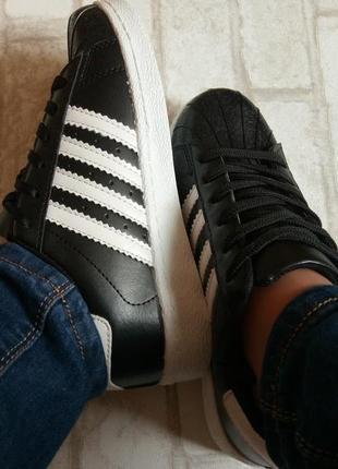 Кроссовки кожаные черные, кроссовки кожаные черные с белыми по...
