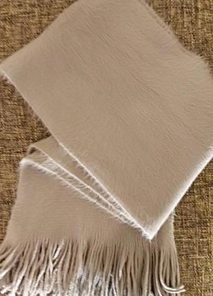 Шарф мокко, теплый шарф