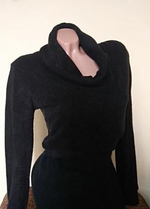 Туника черная, свитер с туникой