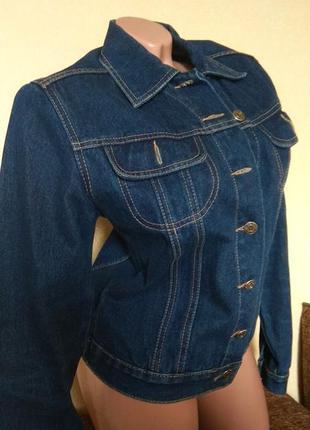 Куртка джинсовая, пиджак джинсовый, женская джинсовая куртка