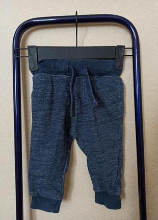 Штаны меланжевые next, штаны next синие