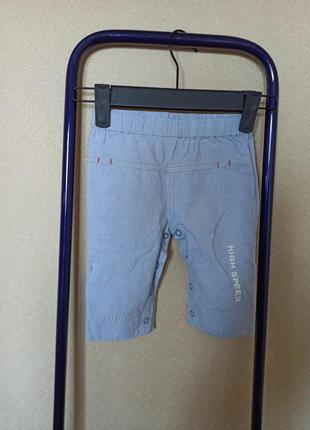 Штаны на новорожденного, брюки бриджи летние