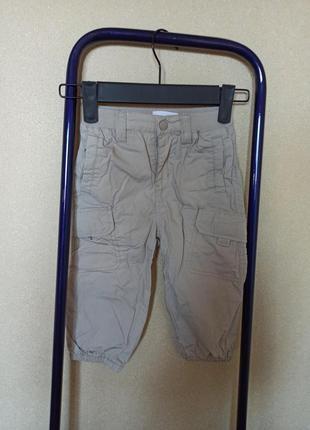 Штаны джинсы бежевые