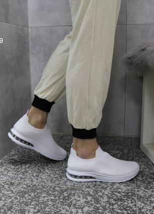Кроссовки мужские текстильные, кроссовки белые текстильные