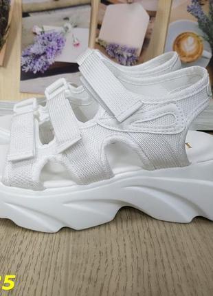 Спортивные босоножки белые, босоножки фила белые, босоножки на...