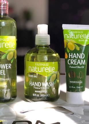 Набор на день учителя лосьон гель мыло крем оливкп olive oil f...
