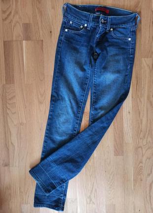 Джинсы levis синие, женские джинсы синие