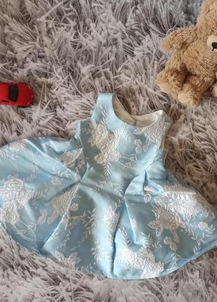 Красивое пышное платье monsoon, платье на новорожденного, праз...