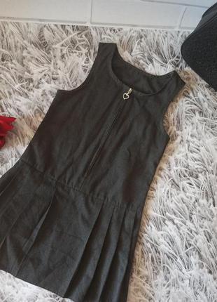 Сарафан george серый, george платье на девочку