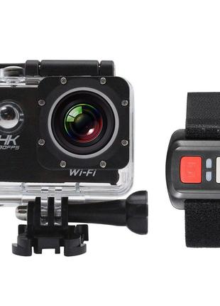 ЭКШН КАМЕРА Го ПРО 4K WATERPROOF wifi екшн камера UltraHD FullHD