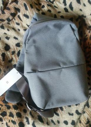 Рюкзак Xiaomi Mi City Sling Bag (Light Grey) НОВИЙ