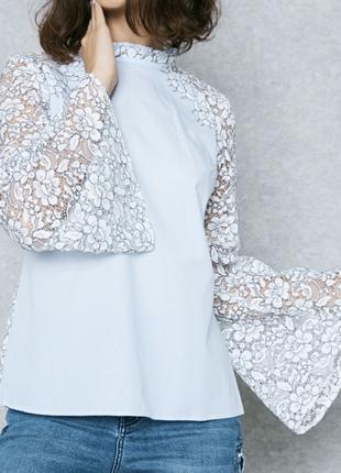 Рубашка блуза сорочка topshop