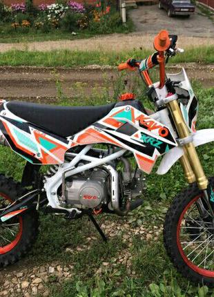 Мотоцикл 125 питбайк кросс eндуро kayo