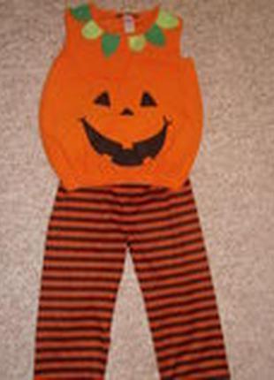 Костюм тыквы на хеллоуин или новый год