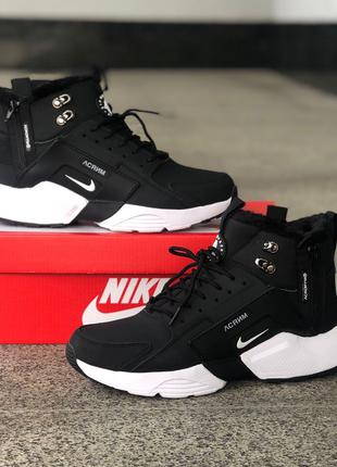 Кроссовки Nike Air Huarache Acronym Black/white