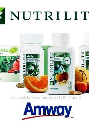 Вітаміни Amwey. Комплекс Омега-3 NUTRILITE ( 90 таблеток в упаков