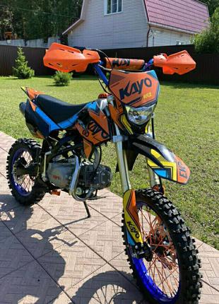Мотоцикл питбайк kayo 125
