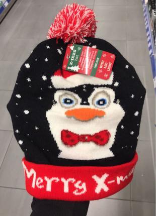 шапка новогодняя