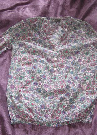 Блузка, рубашка, р. 36/S/42, б/у, Franco Callegari