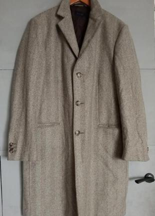 Мужское пальто . пальто joop!. шерстяное пальто. шерсть . ёлоч...